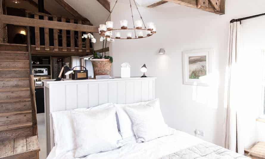 The Hayloft, self-catering studio near Dartmoor, owned by Sarah White who is helping champion the #treatournhs campaign