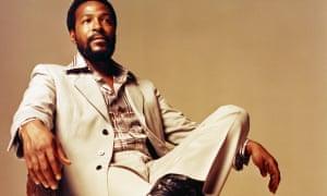 'Redefined Motown' … Gaye at Golden West Studios, Los Angeles, 1973.