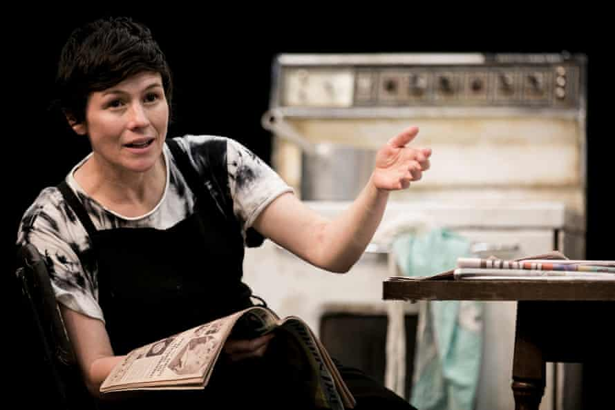 Yael Stone in rehearsal for STC