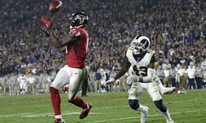 Atlanta got just enough offense from Matt Ryan and Julio Jones as their defense shut down the Rams' high flying offensive attack in the Wild Card round of the NFL playoffs.