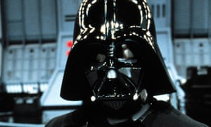 Back in black ... Dave Prowse as Darth Vader in 1983's Return of the Jedi.