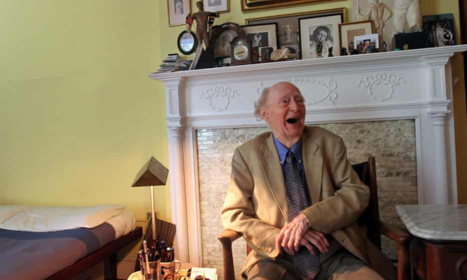 'He put his worst foot forward' … James Purdy, aged 82, in his Brooklyn apartment.