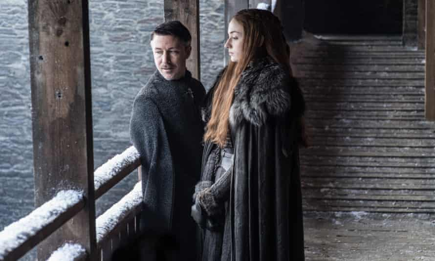 He wants to sit on the Iron Throne with Sansa at his side – but he'll have to get inside her head first.