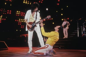 'Oh, people can you hear me?' Queen make themselves heard on the list.