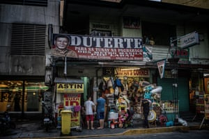 """Two years into President Rodrigo Duterte's """"Tokhang"""" war on drugs and, by some accounts, over 13,000 deaths - more than the official death toll during the nine years of martial law under President Ferdinand Marcos - Duterte remains highly popular with the Filipino voting public"""