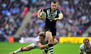 Kieran Foran in action for New Zealand