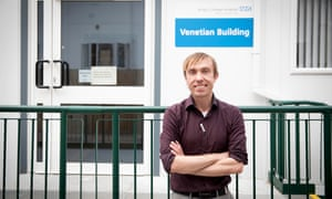 Dietician Chris Cheyette, King's College hospital in south London.