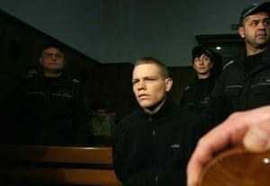 Jock Palfreeman in a Bulgarian court