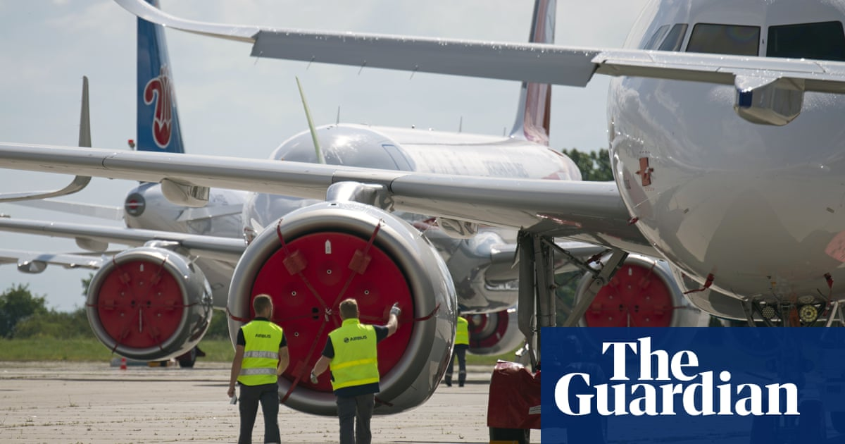 Airbus reveals planes sold in last two years will emit over 1bn tonnes of CO2