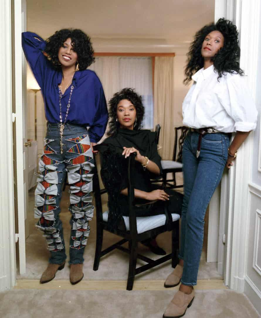 The Pointer Sisters, from left: June, Anita and Ruth, are seen in this June 1990 file photo in New York.