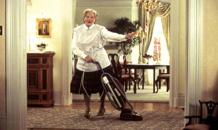 Swept all before her ... Robin Williams in Mrs Doubtfire, 1993.