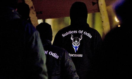 street vigilante group soldiers of odin