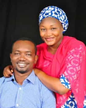 Grace and her husband Danladi Saleh