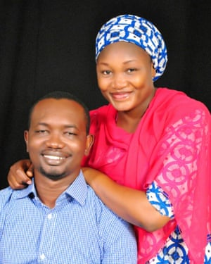Grace and her husband Danladi Saleh