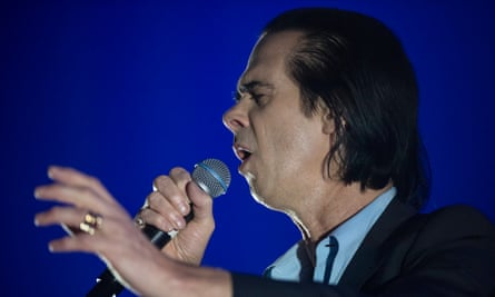 Nick Cave on stage in Zurich this month