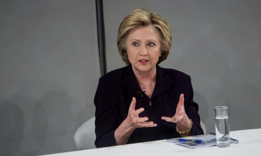 'If talking about equal pay and paid leave and more opportunities for women in the world is playing the gender card, deal me in,' Clinton said.