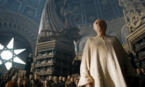 Jonathan Pryce as the High Sparrow in Game of Thrones' season six finale.