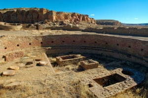 A 'Great House', in Chaco Culture National Historical Park.