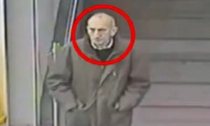 CCTV footage showing David Lytton at Manchester Piccadilly station