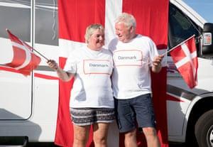 Anita and Soren Hansen, 54, from Roskilde, Denmark