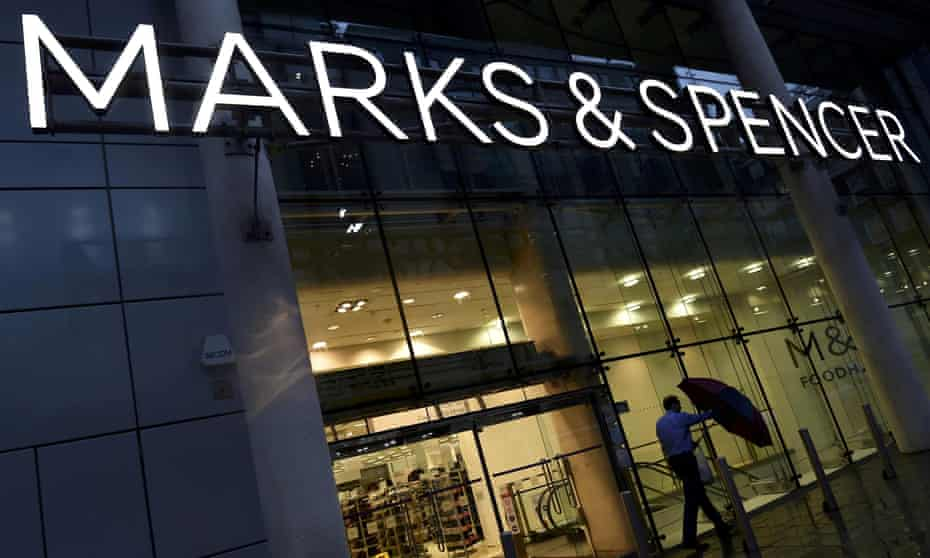 A Marks & Spencer branch in London.