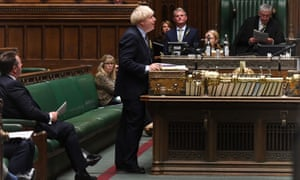 Boris Johnson faces Keir Starmer at Prime Minister's Questions on 9 September