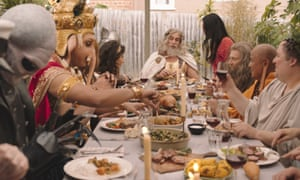 A Meat & Livestock Australia lamb ad campaign featuring various deities and religious figures has drawn criticism from Hindus and Anglicans.