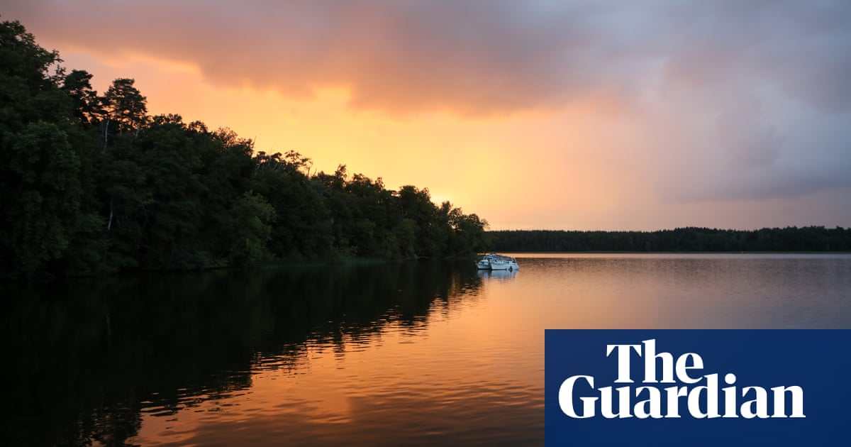 Messing about in boats on Germany's lakes – and barely a tourist in