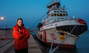 Marc Reig, the captain of the Open Arms rescue boat.