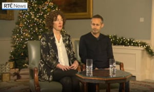 Meabh and Sebastian Quoirin speaking publicly for the first time since the death of their daughter Nora.