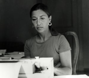 Ginsburg working while on a Rockefeller Foundation fellowship in Italy in 1977.