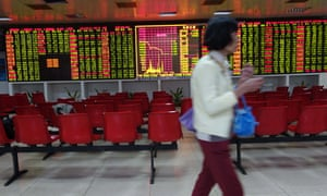 China share trading halted after market plunges 7% in