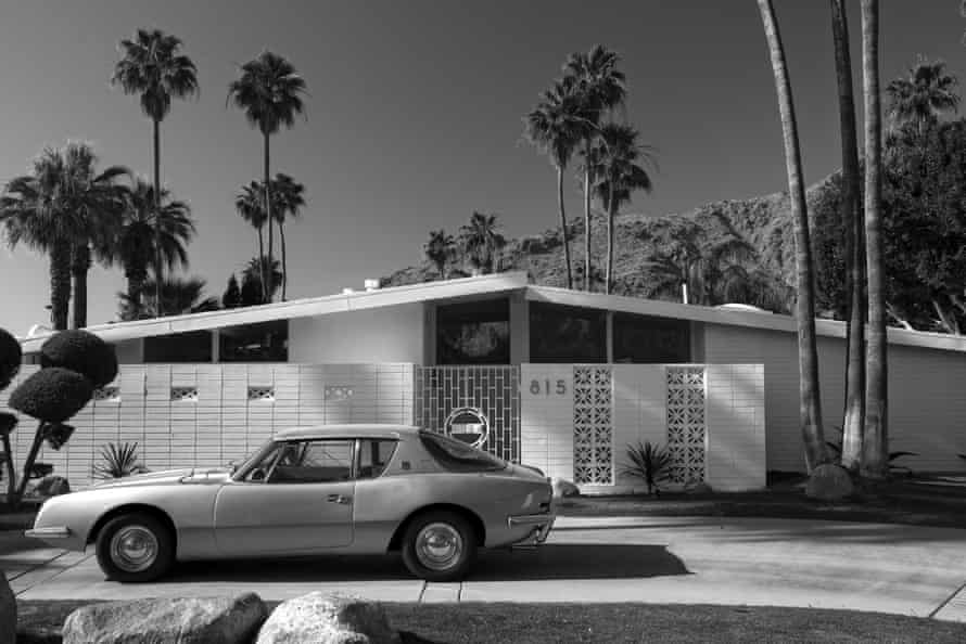 'Suburban paradise' … a modernist house in Palm Springs in the 60s.