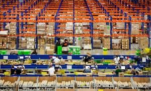 An Amazon warehouse in Milton Keynes … Heike Geissler describes working an Amazon distribution centre in Seasonal Associate