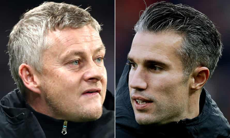 Ole Gunnar Solskjær has hit back at Robin van Persie over his recent comments