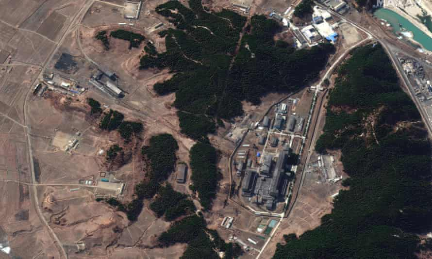 North Korea's main atomic complex in Yongbyon