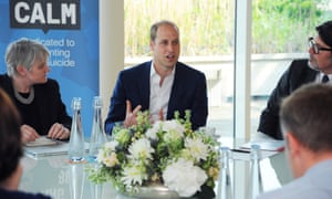 Prince William in meeting