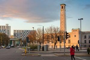 Southampton Civic Centre.