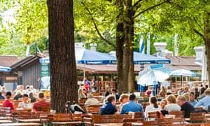 Hirschgarten beer garden, Munich