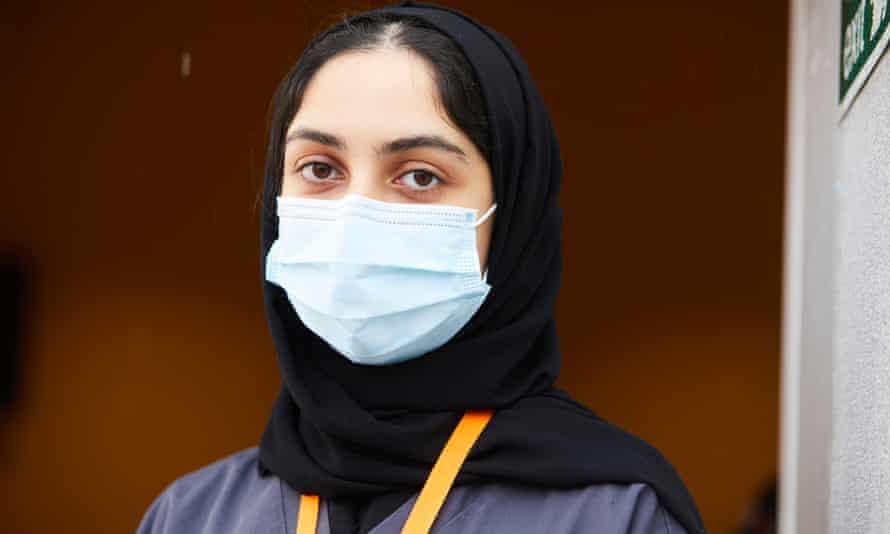Student doctor Areej Shams-Khan.