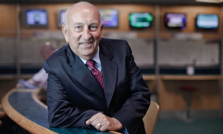 Fred Done, owner of Betfred bookmakers,