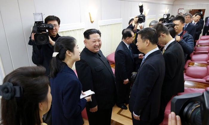 c4f396bc95b9 Kim Jong-un agrees to meet South Korea president at summit on 27 April
