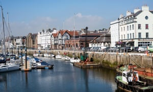 The inner harbour in Douglas, Isle of Man