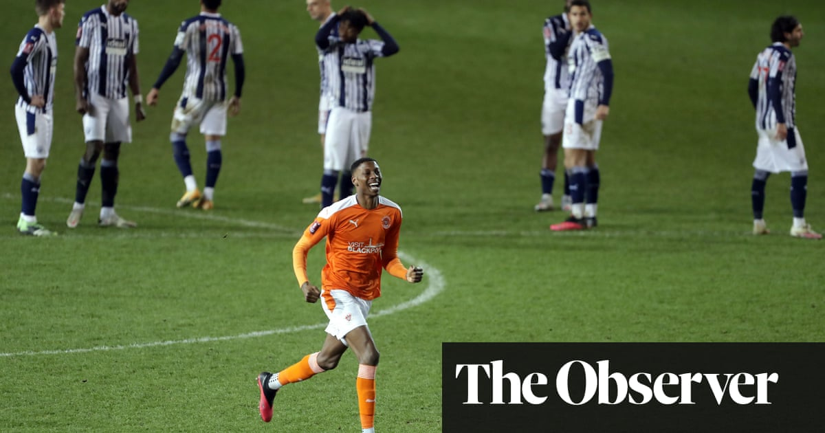 Allardyces wait for a win goes on as Blackpool dump West Brom out of Cup