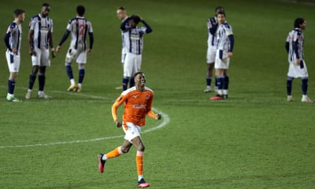 Allardyce's wait for a win goes on as Blackpool dump West Brom out of Cup