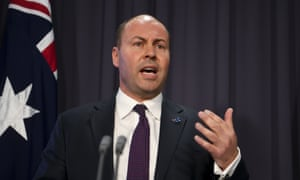 Josh Frydenberg has pointed to existing policies and given no sign of additional fiscal support to boost the economy as seasonally adjusted GDP fell to 1.8%