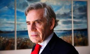 Former Labour prime minister Gordon Brown.