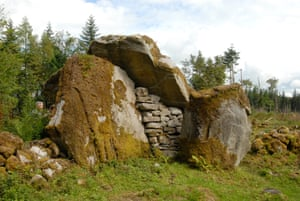 The Calf House tomb in Burren Forest.