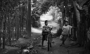 Two young boys in rural Nicaragua, photographed by Australian photojournalist Josh Mcdonald.
