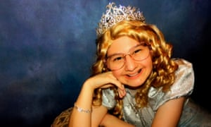 Fairytale princess: Gypsy loved Disney films and she and her mum were gifted many trips to Walt Disney World